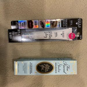 2X Glitter Glue Eyeshadow Primer New